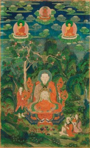 The Arhat Rahula as one of the Sixteen Arhats China; 18th century Rubin Museum of Art (C2004.9.1) (HAR 65363)