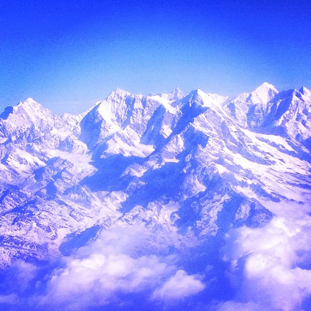 Mount Everest. Photo by Laura Craft