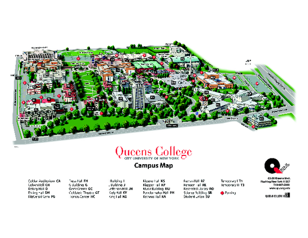 Queensborough Community College Campus Map.3d Map Making With High School Students Education At The Rubin