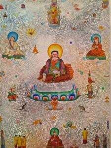 buddha and teachers